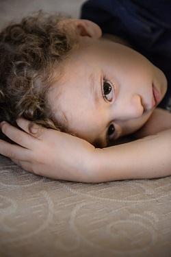 Copil obosit