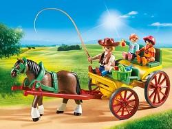 Set de jucarie Trasura cu cal