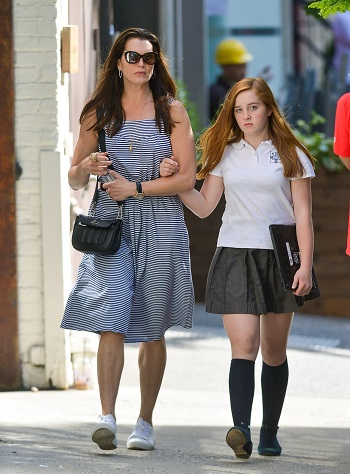 Brooke Shields si fiica ei cea mare