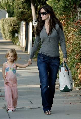 Courtney Cox si fiica ei, Coco