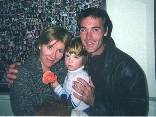 Emma Thompson, fiica si partenerul ei