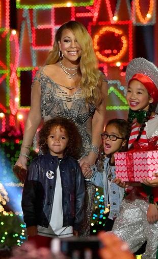 Mariah Carey si copiii ei