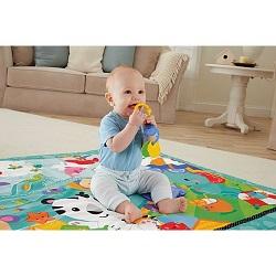 Bebelus ce se joaca in cadrul unui centru de activitati