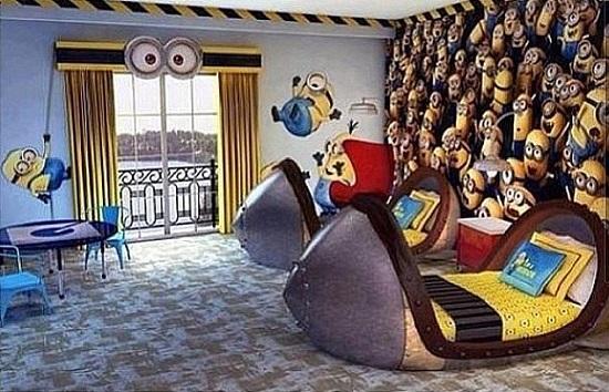 Dormitor cu Minioni