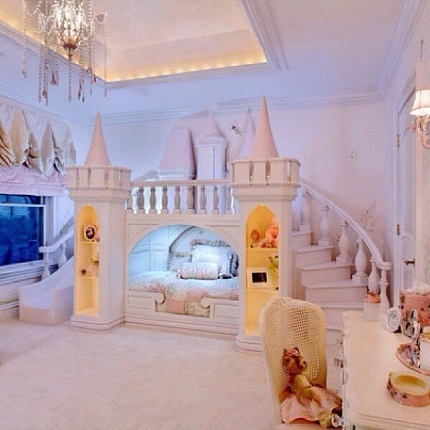 Dormitor de fetite Castelul Visurilor