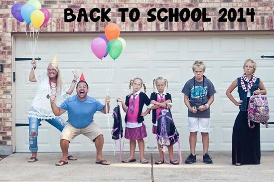 Bucuria pentru Prima zi de scoala este atat de mare, incat merita organizata o petrecere