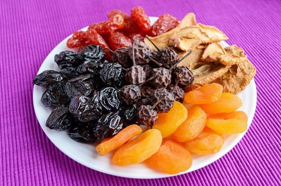 Mix de fructe confiate