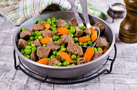 Mazare cu carne de vita si cu morcovi