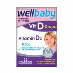 WellBaby picaturi cu vitamina D
