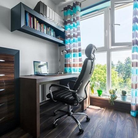 Interiorul unei camere-birou