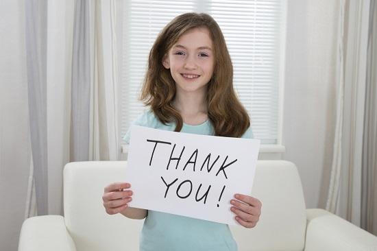 Intrebare pentru copil: pentru ce esti cel mai recunoscator?