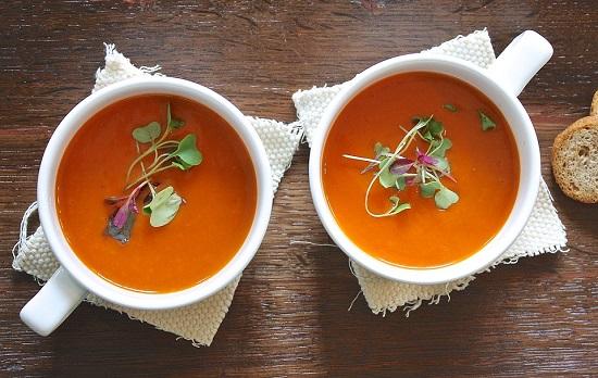 Supa crema in castronele