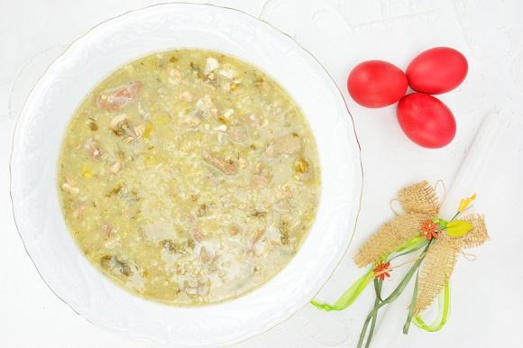 Supa greceasca de Paste, Magiritsa