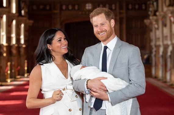 Printul Harry, Meghan Markle si fiul lor