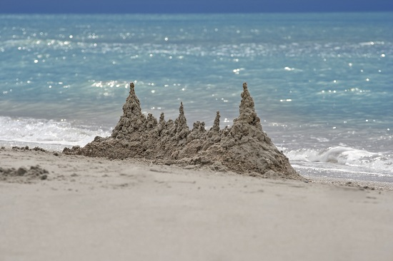Castelul de nisip al Sirenelor