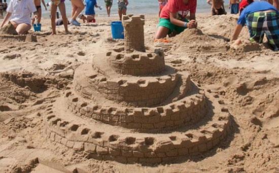 Castel-cetate in forma de spirala