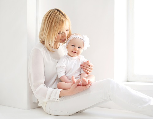 Bebelusa ce are un nume care inseamna Iubire