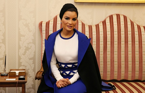Sheikha Mozah, sotia emirului din Qatar