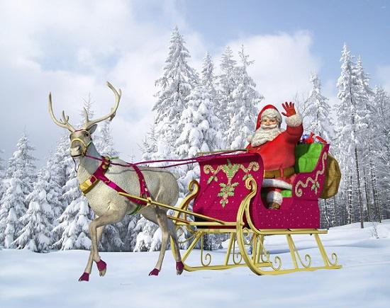 Poezie Santa Claus