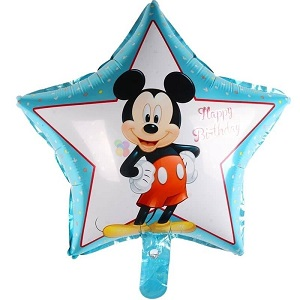 Balon folie stea Mickey