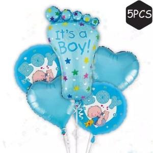 Set Baloane pentru botez de baieti
