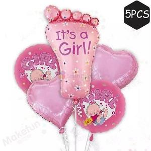 Set Baloane pentru botez de fetite