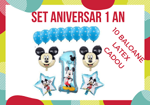 Baloane Mickey set aniversar 1 an