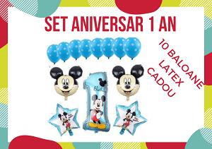 Baloane Mickey set aniversar 1 an