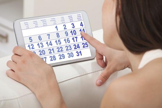 Poti calcula cate saptamani de sarcina ai  cu ajutorul unui calendar