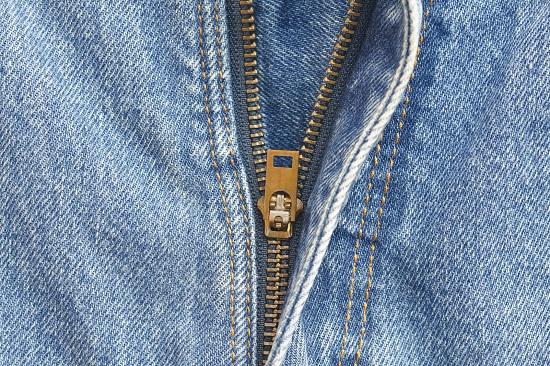 Fermoarul ascuns poate fi un indiciu pentru o haina de calitate