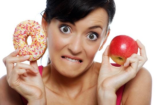In loc de dulciuri, este necesar sa facem alte alegeri alimentare in timpul alaptarii