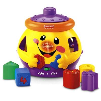 Jucarie pentru copii in forma de borcan de biscuiti