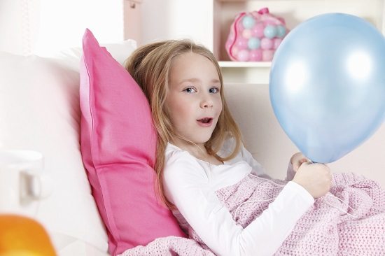 Copilul bolnav are nevoie de activitati recreative