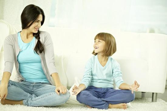 De mare ajutor pentru copilul bolnav: practicarea unor tehnici de relaxare