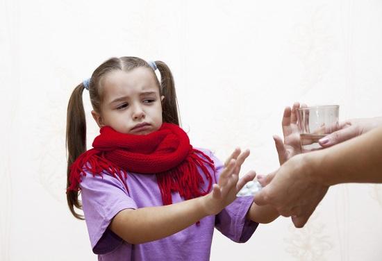 Copilul poate neaga faptul ca este bolnav