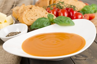 Supa de legume este numai buna in perioada alaptarii