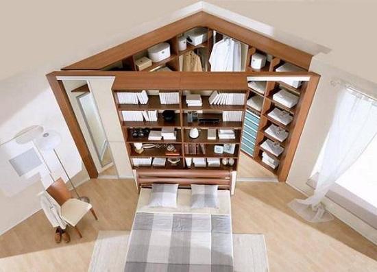 Organizarea spatiului dintr-un apartament mic cu ajutorul unei mobile pe colt