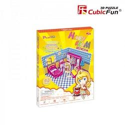 Puzzle 3 D, Dormitor