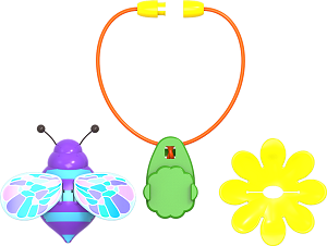 Gandacel pentru Floare interactiva