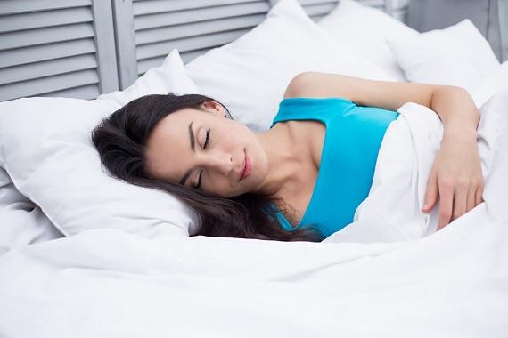 Fata ce doarme linistita