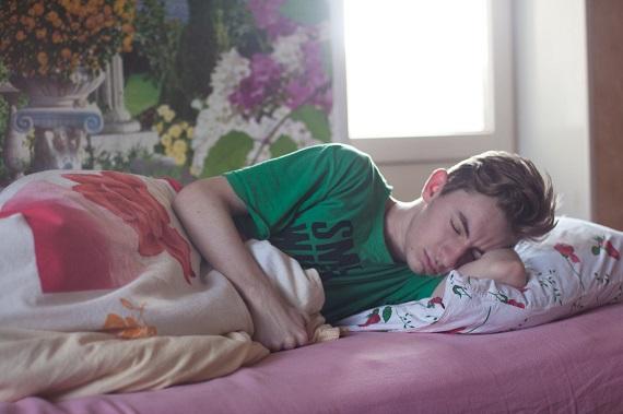 Adolescent ce doarme