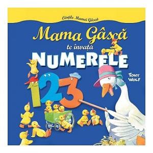 Carte pentru copii- Mama Gasca te invata Numerele