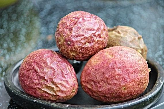 Fructul-pasiunii copt