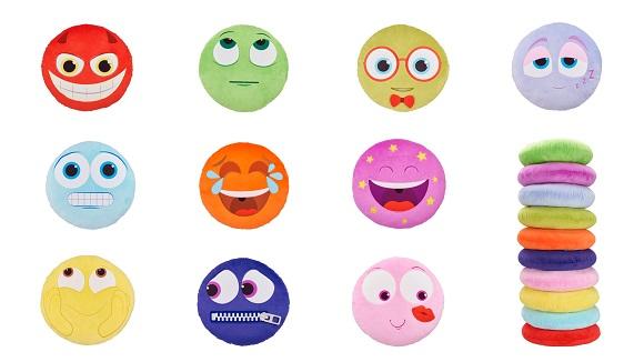 Pernute colorate ce exprima emotii