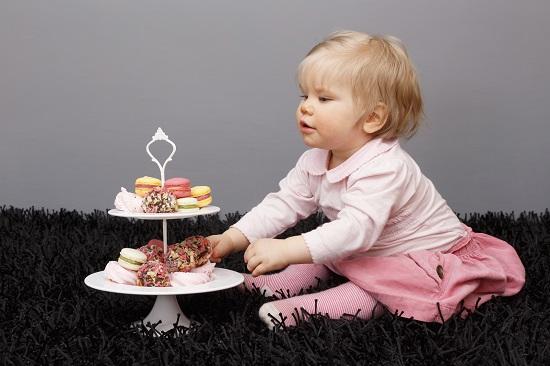 Produsele dulci, interzise bebelusilor mai mici de 1 an