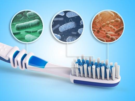 Bacterii ce pot exista pe o periuta de dinti