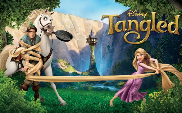 Film cu printese: Tangled