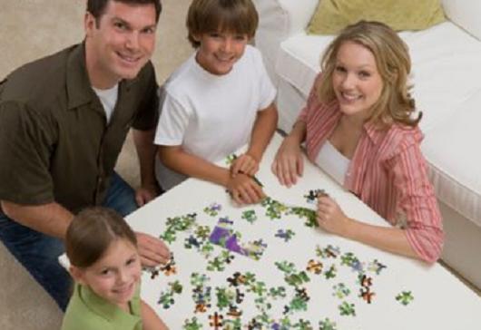 Joc de familie: puzzle