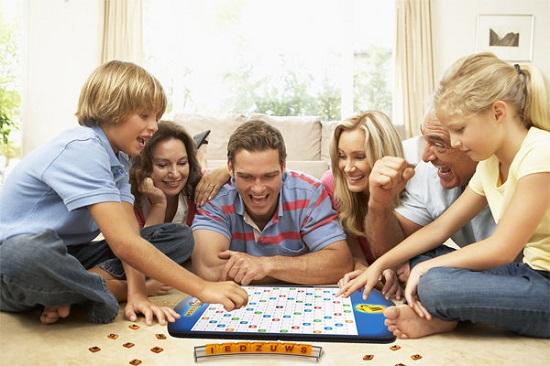 Joc de familie: Scrabble