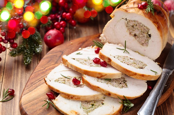 Rulada de carne, festiva